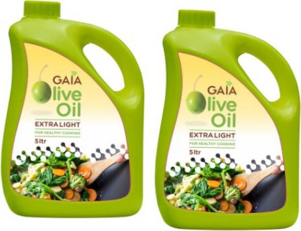 GAIA Extra Lite Olive oil 10 Ltr Olive Oil Can