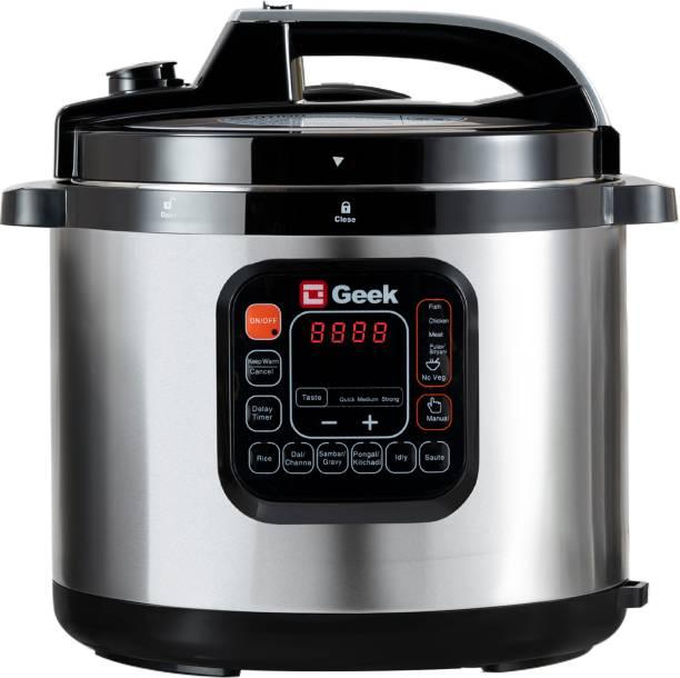 Geek Robocook - 11 in 1 (8 Litre   SS Pot) Electric Pressure Cooker