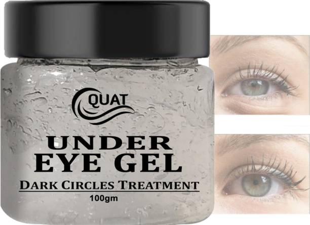 QUAT Under Eye Patches Anti-Puffiness Skin Care Dark Circles Remover Eye gel In Skin Treatment In Skin Brightening Cream Gel.