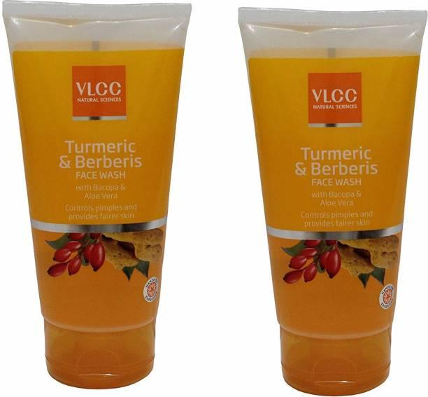 VLCC EPIC Turmeric & Berberis  (Pack of 2 * 150 ML) Face Wash