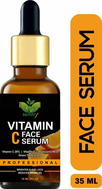 Sunfly Advance & Pure Vitamin C With Vitamin E Fairness Serum for a Brighter and Healthier Skin With Extra whitening.