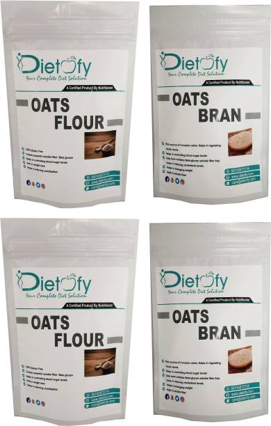DIETOFY Oats Bran + Oats Flour