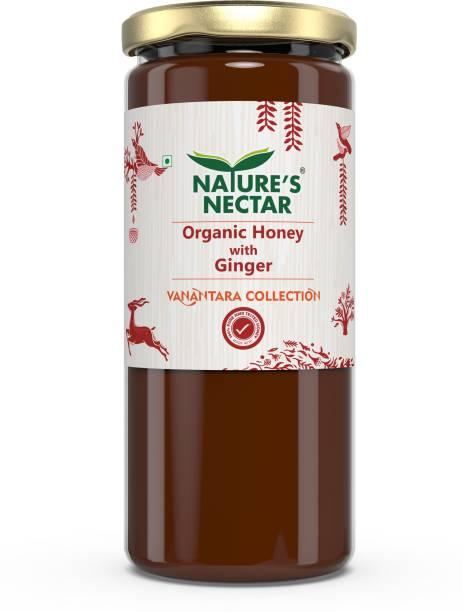 Nature's Nectar Organic Honey with Ginger