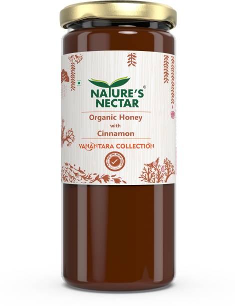 Nature's Nectar Organic Honey with Cinnamon