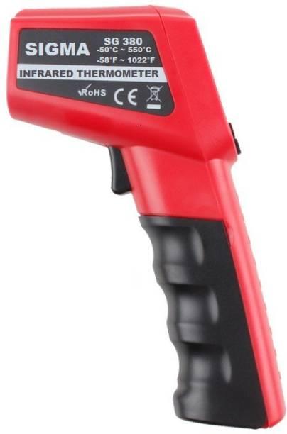 SIGMA SG 380 Temperature Gun Thermometer (-50C to 380C) Temperature Gun Infrared Thermometer Thermometer