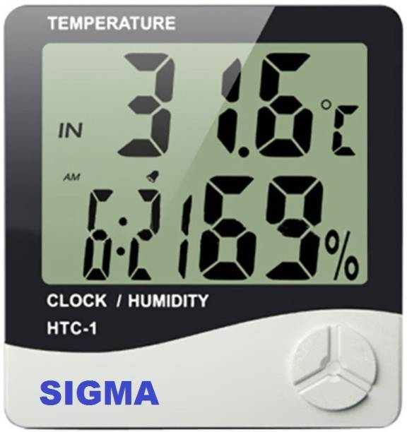 Sigma HTC-1 Temperature and Humidity Meter Instant Read Thermocouple Kitchen Thermometer