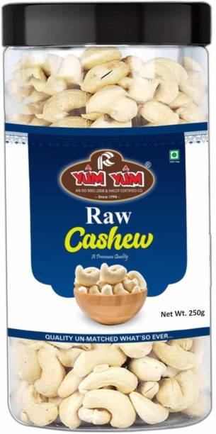 YUM YUM Premium Raw Cashew Nut Kaju 250g Cashews