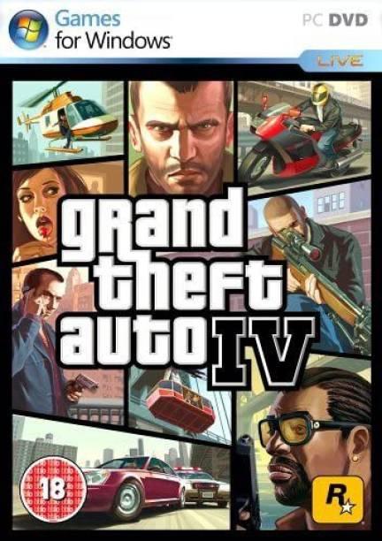 Grand Theft Auto IV : GTA 4 (DVD)