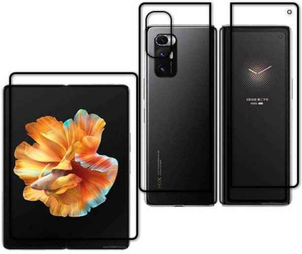 KOISTON Front and Back Tempered Glass for MI MIX FOLD