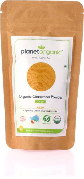 Planet Organic India Organic Cinnamon Powder