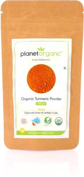 Planet Organic India Organic Turmeric Powder