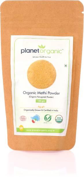 Planet Organic India Organic Methi powder