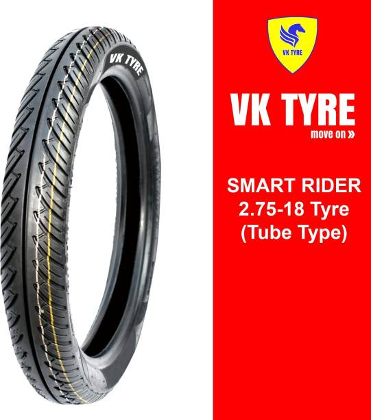 VK TYRE SMART RIDER 2.75-18 Front Tyre