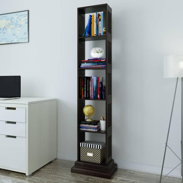 Flipkart Perfect Homes Solid Wood Open Book Shelf