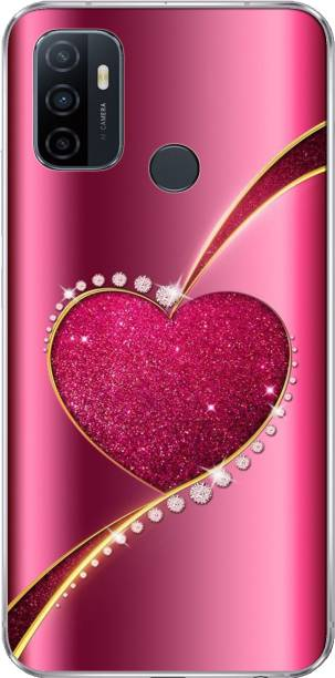 Golden Discount Back Cover for Oppo A53, Print35