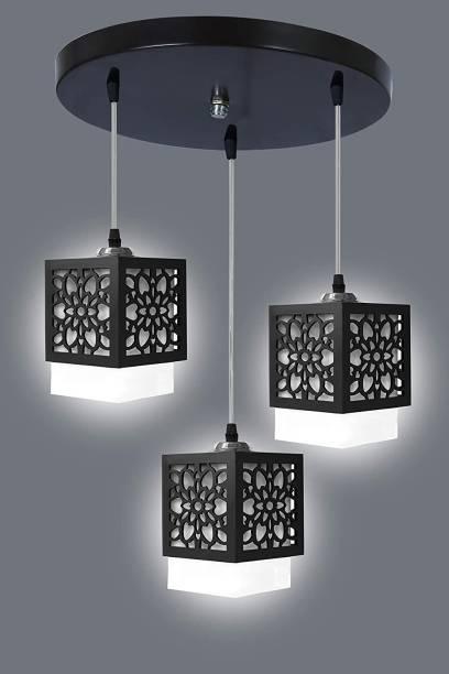 GAUVIK CLUSTER HANGING VI003 CLUSTER THALI Cluster Pendant Light/Cluster Hanging Light/Cluster Ceiling Light for Restaurant,Bedroom, Living Room and Home Decor Chandelier Ceiling Lamp