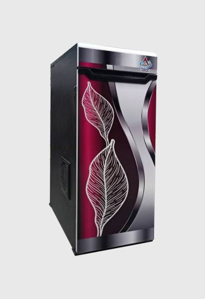 Aastha Enterprise Gharghanti Specially For Masala & Grains Grinding (2 in 1) With Standard Premium Accessories Silver Red Shades Door with leaves Flourmill
