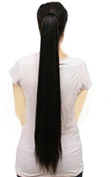 Alizz Natural looks wrap around ponytail hair wig for girls hair and women Hair Extension