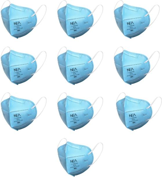 Nea Premium Edition N95 Washable , Reusable 100% Certified CE C2027182 FFP2 EN 149:2001+A1:2009 Face Mask 5 layered with Nosepin mask respirator GV602 Water Resistant, Reusable, Washable
