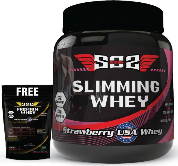 SOS Nutrition Slimming Strawberry Women Whey Protein