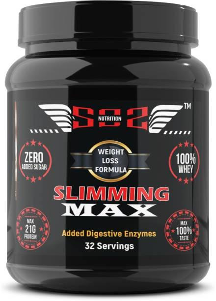 SOS Nutrition High Protein Weight Loss Immunity Booster Slimming Chocolate Shake