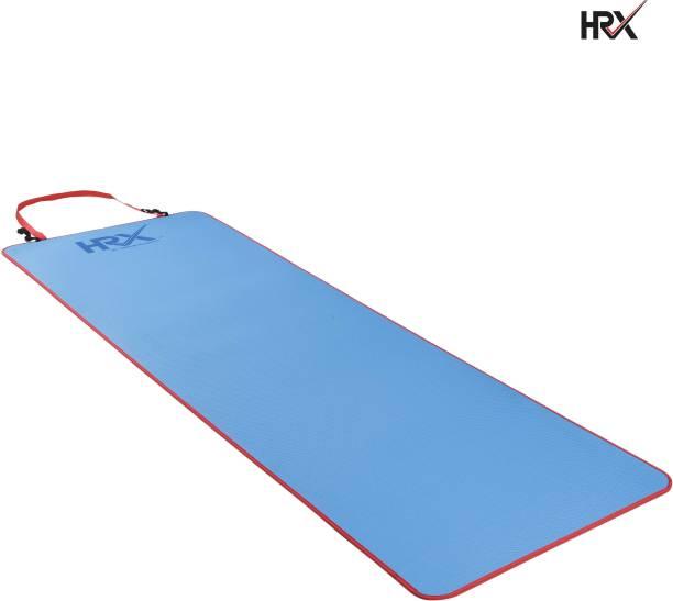 HRX Anti Skid EVA with Strap Blue, Red 6 mm Yoga Mat