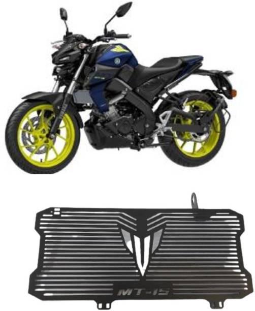 SELVIKE Radiator Grill For MT15 Black Bike Radiator Guard