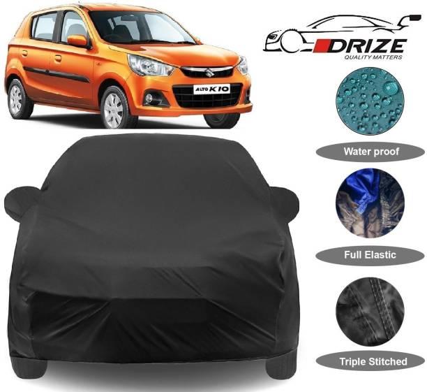 V VINTON Car Cover For Maruti Suzuki Alto K10 (With Mirror Pockets)