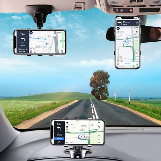 imad Car Mobile Holder for Windshield, Dashboard, AC Vent, Steering