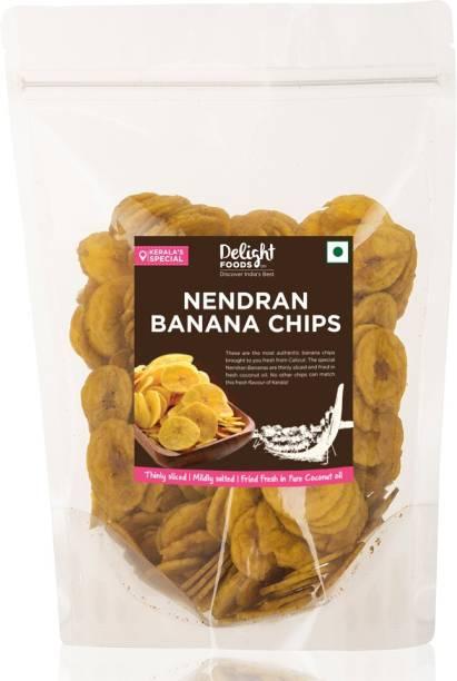 Delight Foods Kerala Nendran Banana Chips Chips