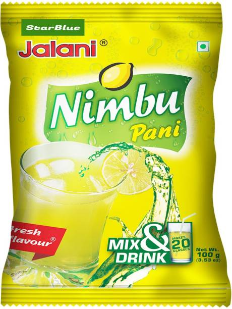 StarBlue Special Instant beverage mix powder for making refreshing nimbu pani without need of squeezing lemons and mixing other ingredients 100 GM PACK OF 1