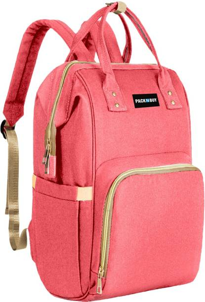PackNBuy Diaper Bag Backpack Stylish Large Baby Mother Maternity Diaper Bags Travel Organizer