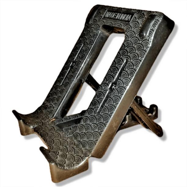 Azim Infotech Adjustable & Foldable Cell Phone Tablet Stand Anti Slip Foldable Desktop Mobile Holder Mobile Holder