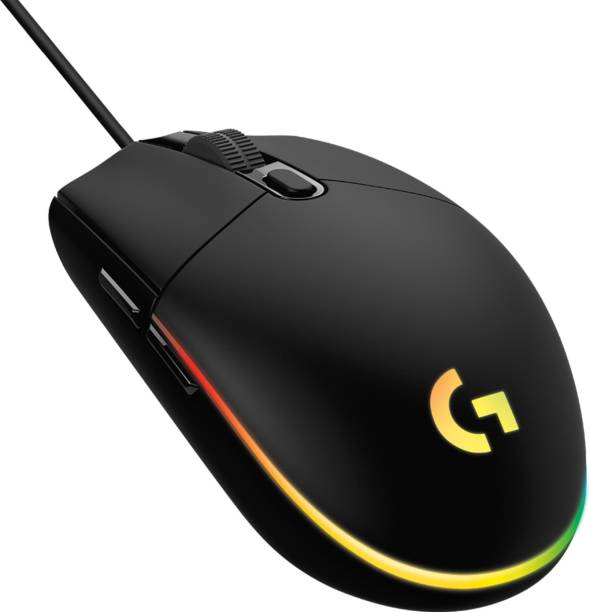 Logitech G102 Light Sync Wired Optical  Gaming Mouse