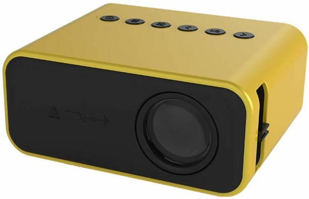 IBS T500 Mini Projector LED Portable Projector Home USB Mobile Phone AV 5V 2A U Disk DVD TV BOX 3.5MM Portable Projector