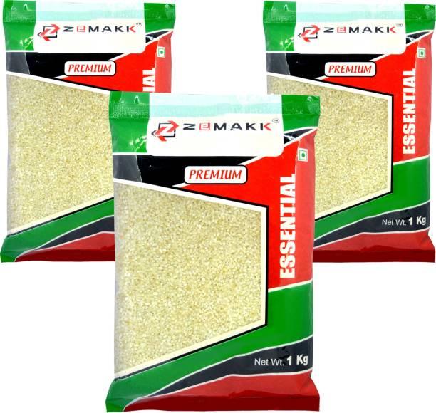 Zemakk Idli Rice 3 Kgs combo Idli Rice (Broken Grain, Boiled)
