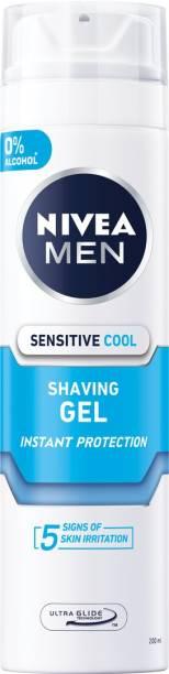 NIVEA Men Sensitive Cool Imported Shaving Gel (Made In Germany)