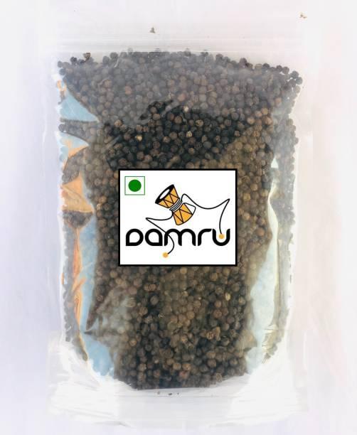 Damru Black Pepper   Whole Pepper Corn   Kali Mirch Sabut