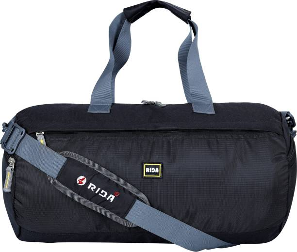 RIDA Outdoor Waterproof Nylon Sports Gym Bags With Shoe Compartment Men & Women Fitness
