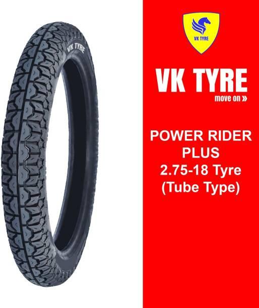 VK TYRE POWER RIDER PLUS 2.75-18 Rear Tyre