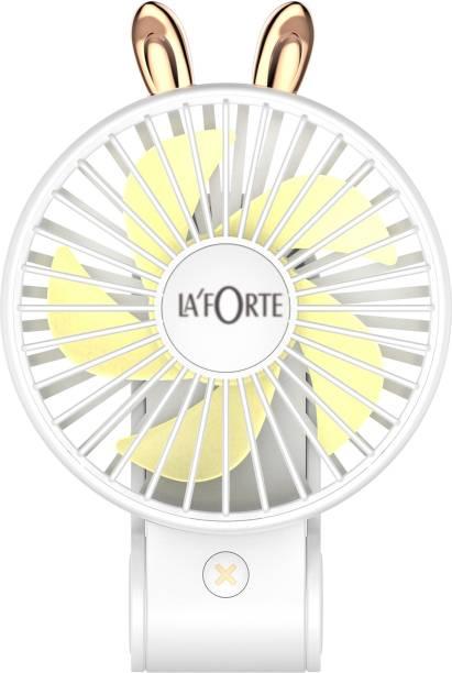 LA'FORTE Superior P23 Sleek Foldable Battery Fan 01 Rechargeable Fan