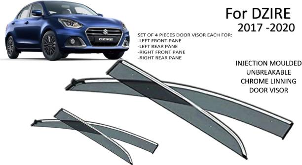 JGJ For Non-convertibles Front, Rear Wind Deflector