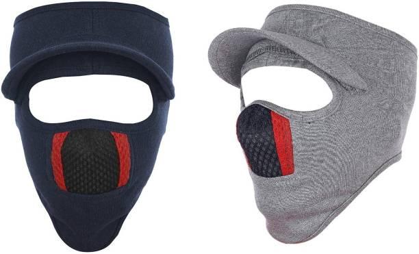 Gajraj Multicolor Bike Face Mask for Men & Women