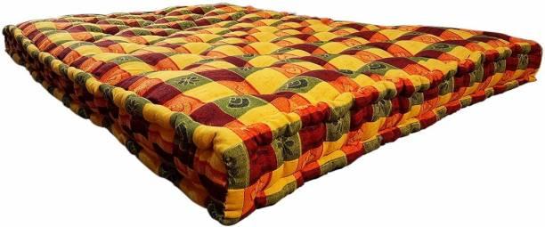 Anand Textile 5 INCH 4X6 COTTON MATTRESS 5 inch Double Cotton Mattress