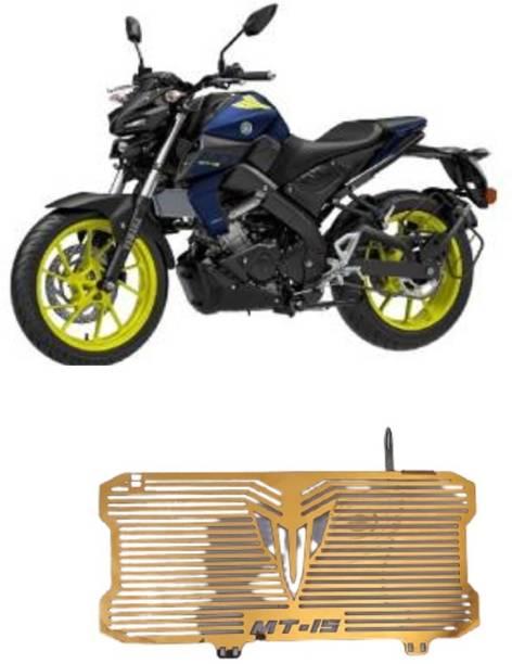 SELVIKE Radiator Grill For MT15 GOLD Bike Radiator Guard