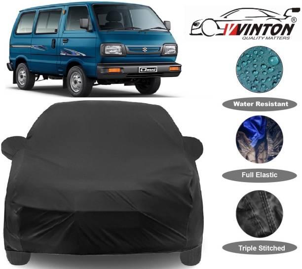 V VINTON Car Cover For Maruti Suzuki Omni (With Mirror Pockets)