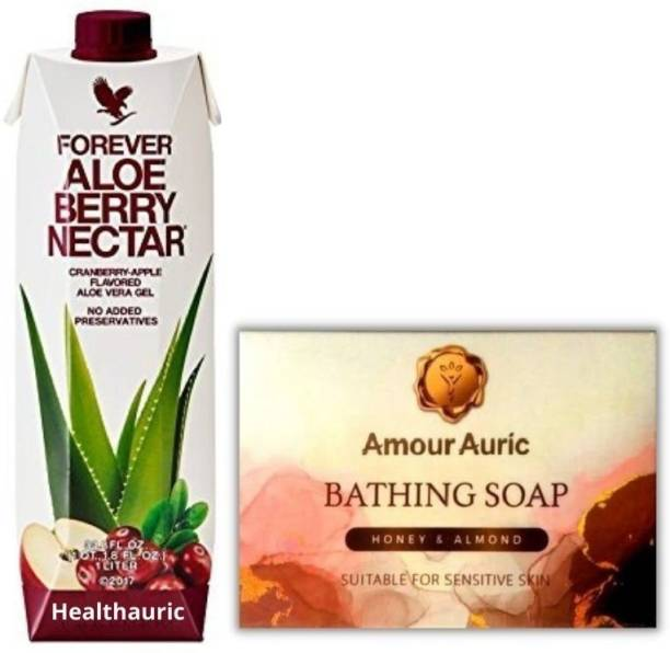 HEALTHAURIC FOREVER ALOE BERRY GEL WITH SOAP