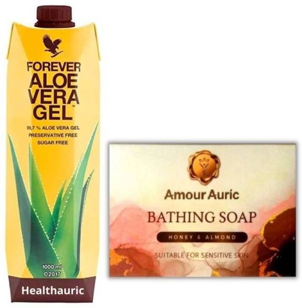 HEALTHAURIC FOREVER GEL WITH SOAP