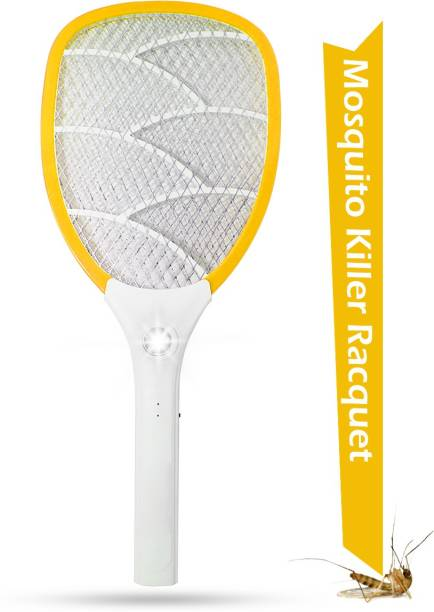 Pick Ur Needs Durable Power Mosquito Racket/Bat with Torch with Wire Charging Electric Insect Killer