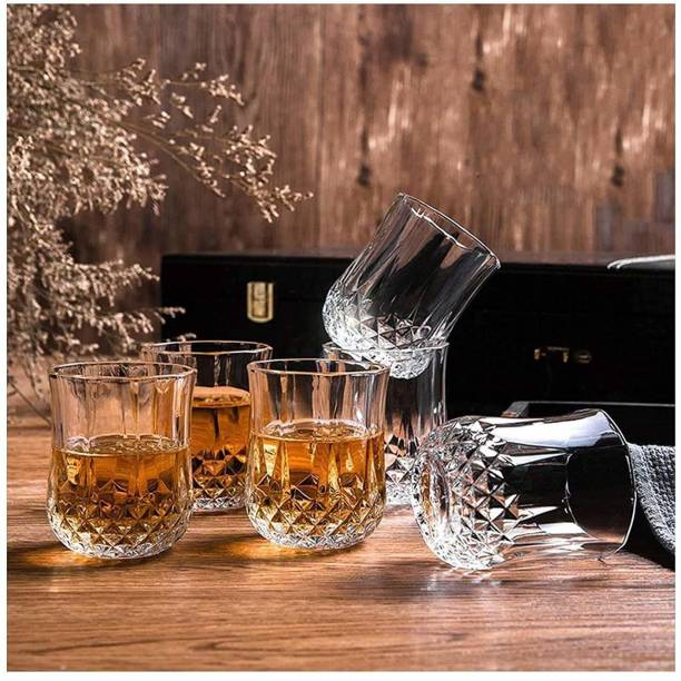 Dominate (Pack of 6) Cristal Unbracable Wter/Juice Glass Glass Set